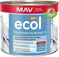 Грунтовка MAV ECOL по металлу Красно-коричневая 1 литр