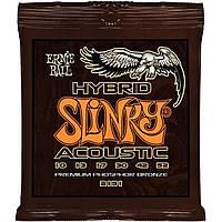 Струны для акустической гитары Ernie Ball 2151 Acoustic Hybrid Phosphor Slinky 10-52