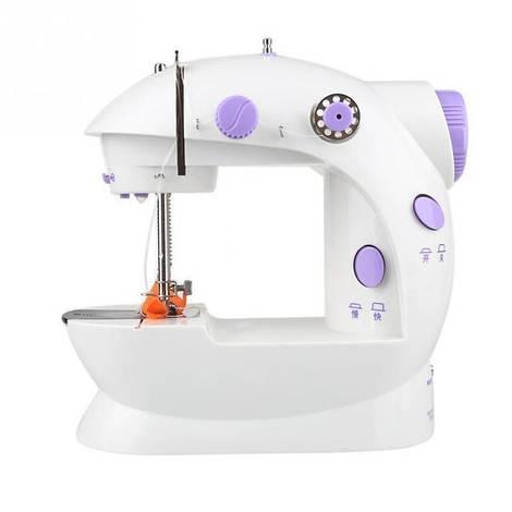 Мини швейная машинка 4 в 1, компактная и очень проста в использовании.