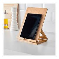 Бамбуковая подставка под планшет, книгу, айфон