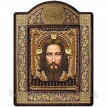 Набір для вишивки ікони в рамці-кіоті «Спас Нерукотворний»