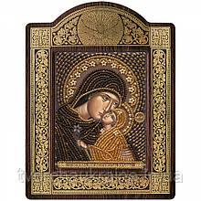 Набір для вишивки ікони в рамці-кіоті «Св. Анна з Марією-немовлям»