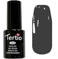 Гель-лак Tertio, 10 мл, №36 темно-серый
