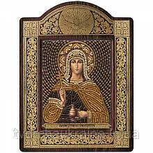 """Набір для вишивки ікони в рамці-кіоті """"Св. Мц. Фотинія Самаритянка (Світлана)"""""""