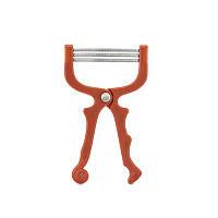 Эпилятор SUNROZ Hair Removal  универсальный инструмент для удаления нежелательных волос Красный  (SUN1003)