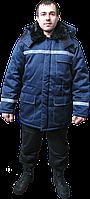 """Куртка утепленная рабочая  """"Вектор"""" (грета, цв. синий)"""