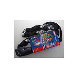 Протиугінна ланцюг ABUS 1060/140 black Granit City Chain X-Plus