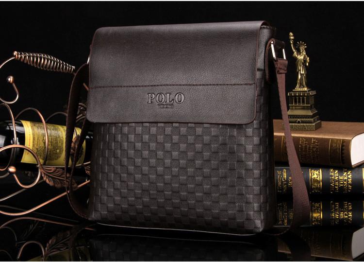Большая мужская сумка через плечо Polo BG