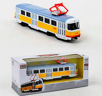 Трамвай Автопарк 6411B Play Smart 1:87