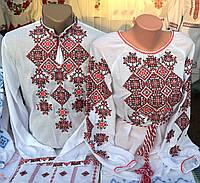 """Сорочки вишиті для чоловіка та жінки """"Легенда"""""""