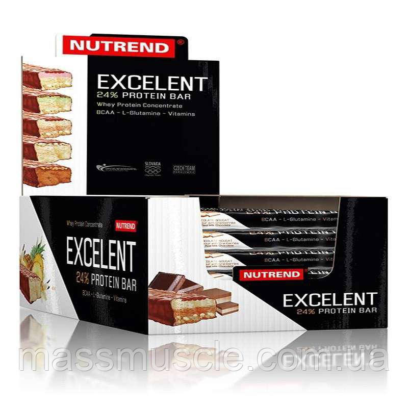 Протеиновые батончики Nutrend Excelent Protein bar 18х85g