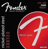 Струны для электрогитары Fender 250R Electric Guitar Strings 10-46