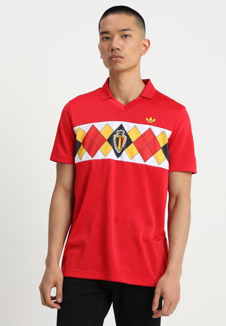 T stampa con Adidas Originals shirt Belgium qEr6xwqHSZ