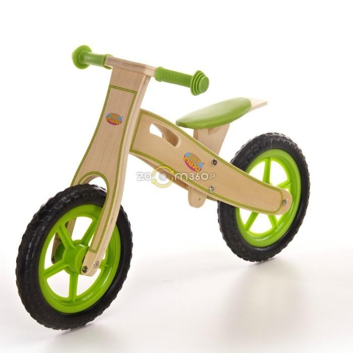 Велосипед на колёсах Eva зелёный