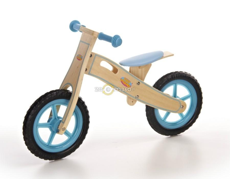 Велосипед на колёсах Eva голубой