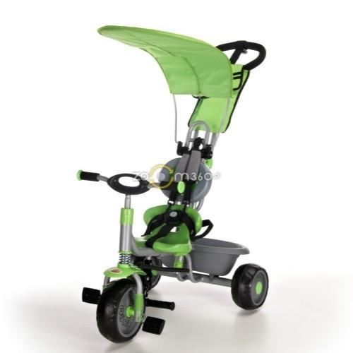 Трёхколёсный велосипед Milly Milly зелёный