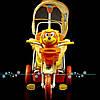 Трёхколёсный велосипед оранжевый
