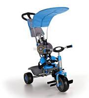 Трёхколёсный велосипед Milly Milly голубой.