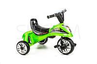 Трёхколёсный скутер зелёный