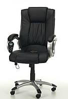 Кресло Manline черное с массажем