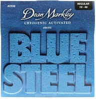 Струны для электрогитары Dean Markley Blue Steel Electric Strings 2556 Regular Gauge 10-46