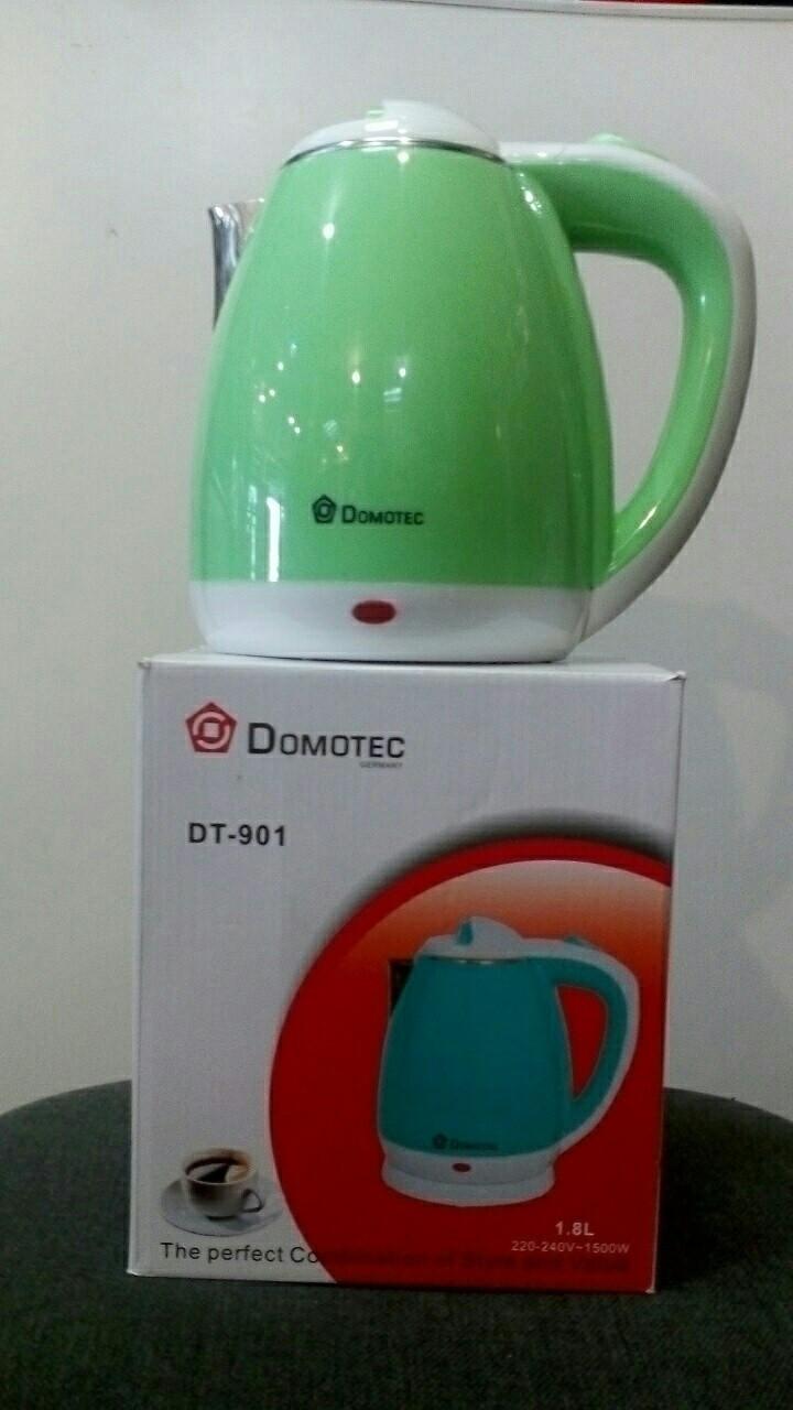 Электрочайник дисковый Domotec DT 901.(нержавейка), фото 1