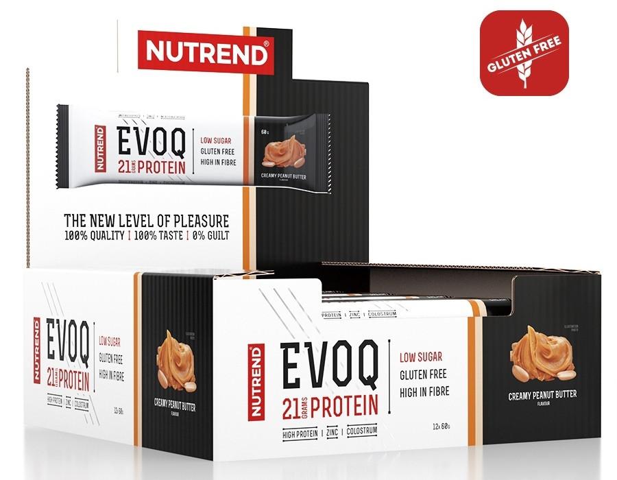 Протеїнові батончики Nutrend Evoq bar 12х60д