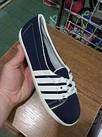Женские слипоны - кеды низкие с полосками sport slipon - low sneakers with stripes