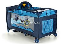 Манеж-кроватка Premium Ocean