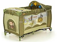 Манеж-кроватка Premium Baby Zoo