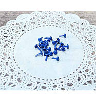 Набор синих брадсов 8 х 4,5 мм, 25 шт.