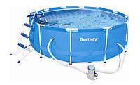 Каркасный бассейн Bestway 366х122 см (56420)