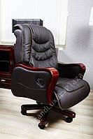 Кресло руководителя - функция relaks PRESIDENT коричневый