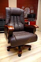 Кресло руководителя - relaks PRESTIGE коричневый