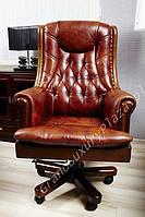 Кресло руководителя - RETRO коричневый