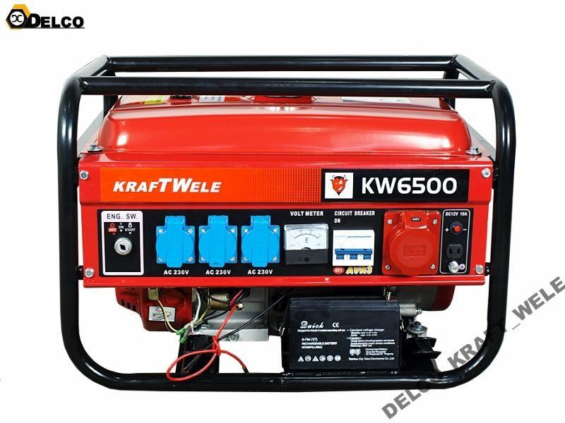 Генератор - KRAFT WELE 4,8KW/400V/EL.ROZR
