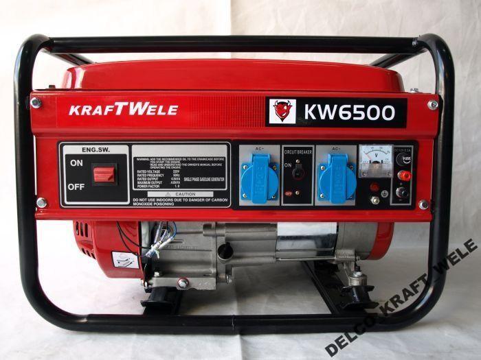 Генератор - KRAFT WELE 4,8KW/230V/AVR