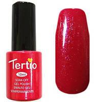 Гель-лак Tertio, 10 мл, №63 ярко-розовый с блестками