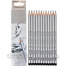 Набор простых карандашей 12шт, HВ / MARCO Raffine