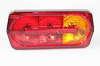 Фонарь УАЗ,прицепы задний в сборе (желтый указатель поворота) (Гелендваген) (производство Автосвет г.Арзамас)