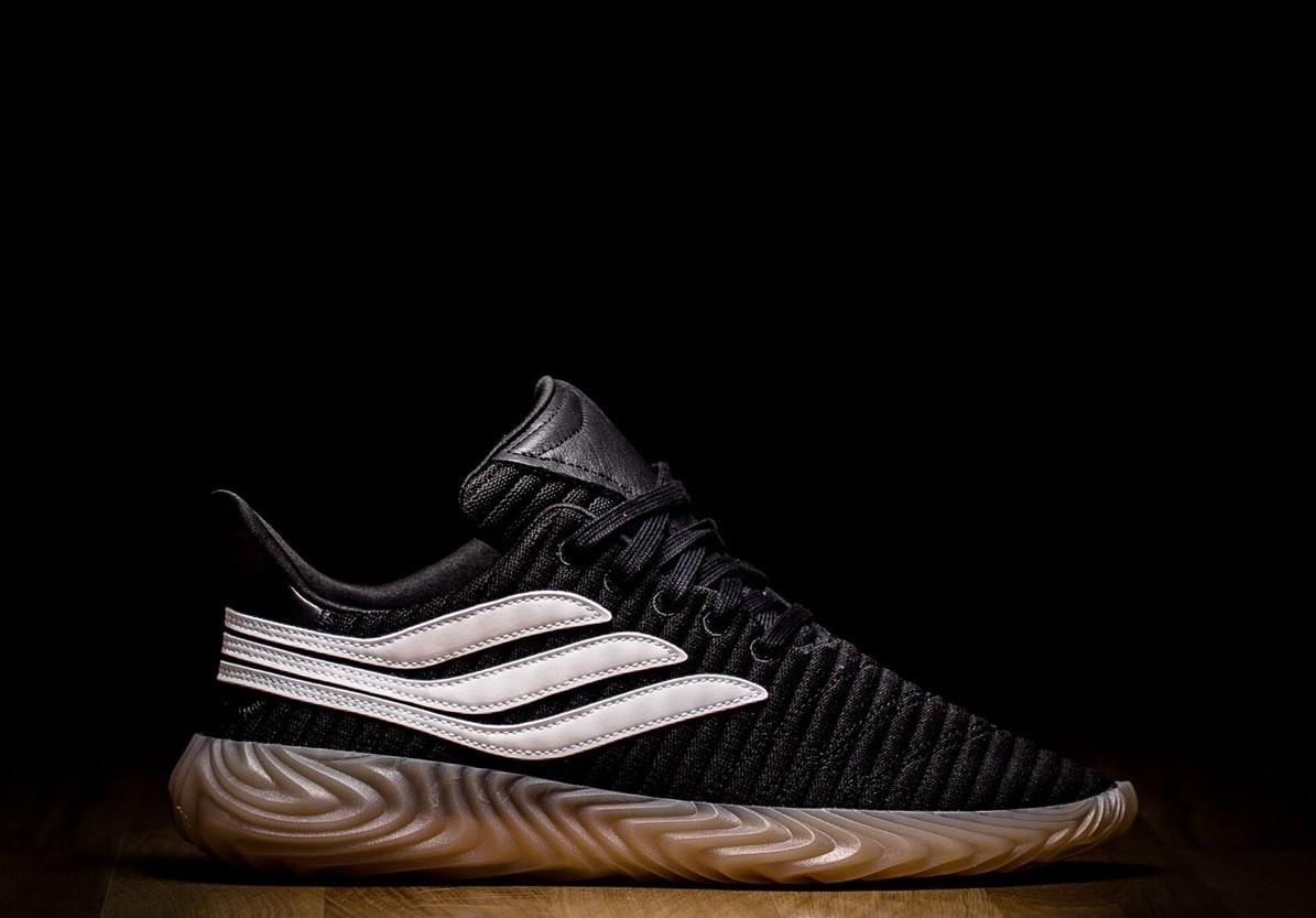 Оригинальные мужские кроссовки ADIDAS SOBAKOV CORE BLACK GUM ... eb2b2926caacd