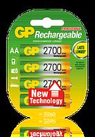 Аккумулятор GP R6 (АА), 2700mAh Ni-MH, 4 шт