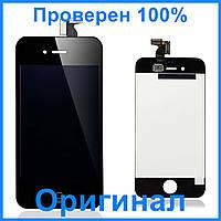 Дисплей Apple iPhone 4   Оригинал   Черный