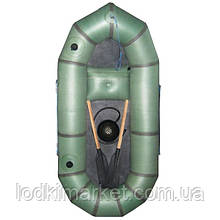 Надувная резиновая лодка Катран 1-БЦК