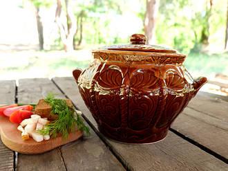 «Корона» – супница из керамики объемом 3 л (327)