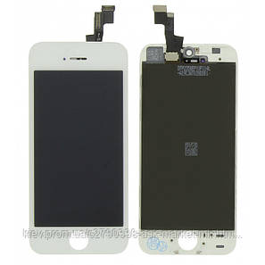 Дисплей Apple iPhone SE   Оригинал   Белый, фото 2