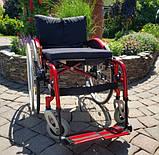 Складная Активная Инвалидная Коляска Sunrise Medical Sopur Neon 50cm/50cm, фото 3