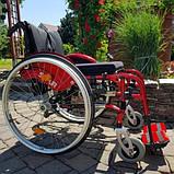 Складная Активная Инвалидная Коляска Sunrise Medical Sopur Neon 50cm/50cm, фото 4