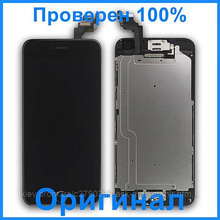 Дисплей Apple iPhone 6 Plus | Оригинал | Черный, фото 2