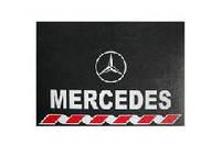 Брызговик 480х330 колеса универсальный с логотипом --  Mercedes --Турция --2шт